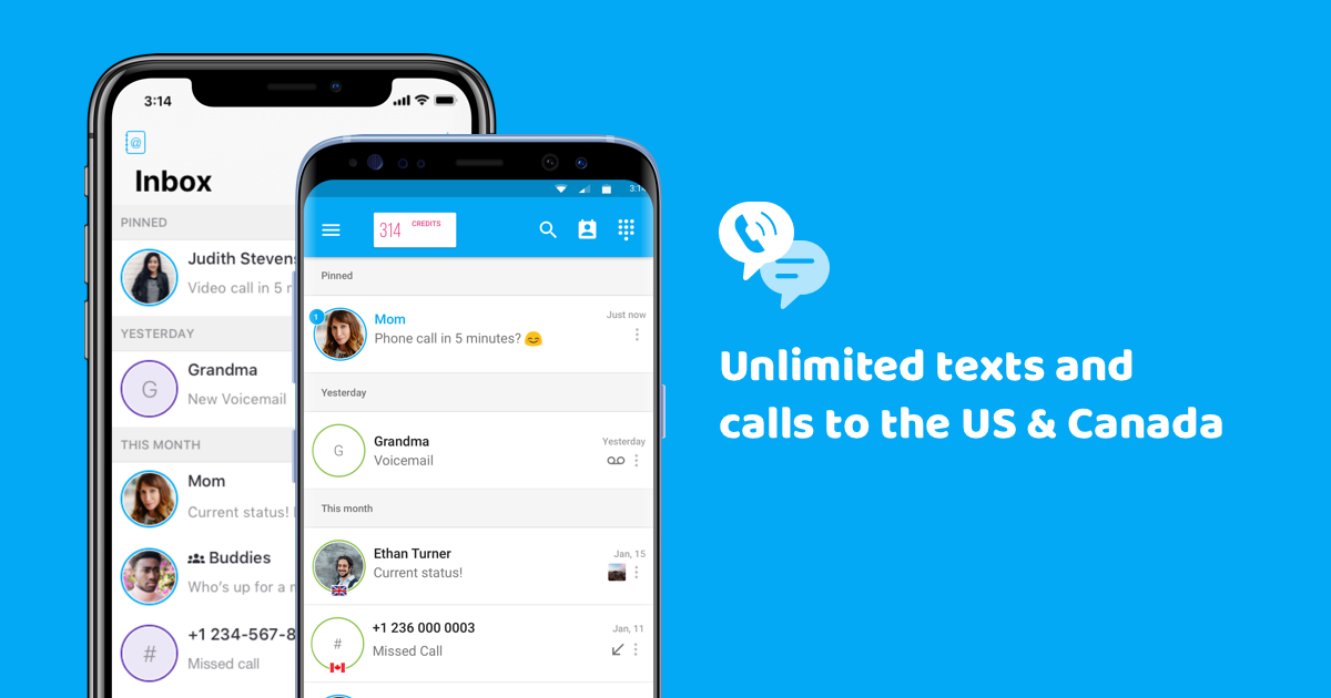 free online texting service with phone number
