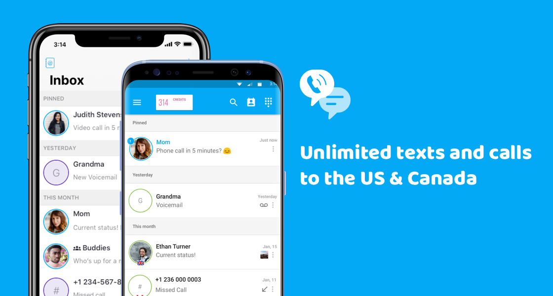 TextMe- Unlimited free texting and calling to any phone